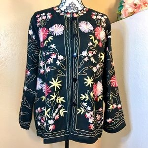 The Vermont Country Store Embroidered Jacket